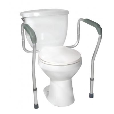 Cadre d'appui sécuritaire pour toilette