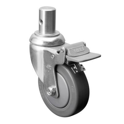 Tige avec boulon latéral et frein - Fini chrome (Livraison gratuite partout au Québec pour les achats de 40$ et plus à l'exception du grand nord)